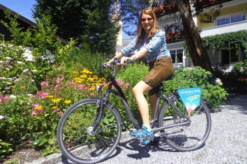 Катание на велосипеде по территории Haus Mühlbacher или окрестностям