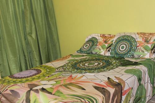 Cama ou camas em um quarto em Pura Vida