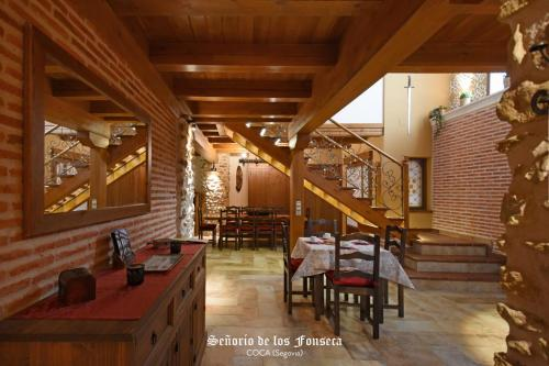 Un restaurante o sitio para comer en Señorío de los Fonseca