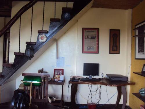 A television and/or entertainment centre at Casa Dayang Boracay