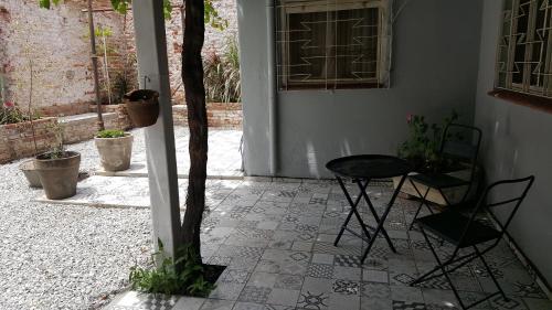 Un pato o zona al aire libre en Alquilara