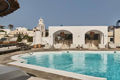 The swimming pool at or near Vedema, a Luxury Collection Resort, Santorini