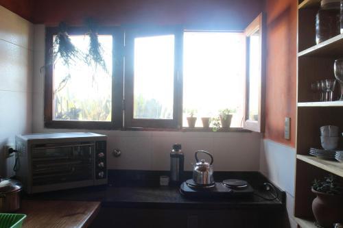 Una cocina o kitchenette en La Rueca
