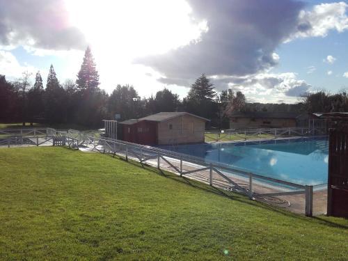 The swimming pool at or near Camping Deva