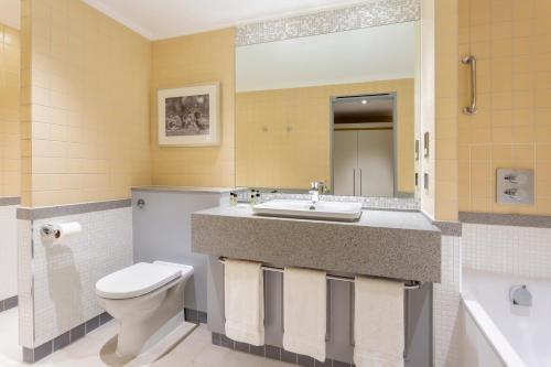 A bathroom at Oulton Hall