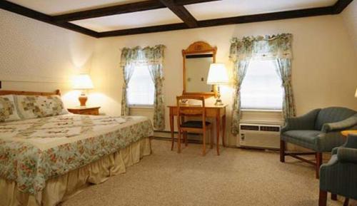 Letto o letti in una camera di Old Field House