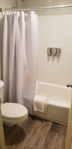 Salle de bains dans l'établissement The Dalles Inn