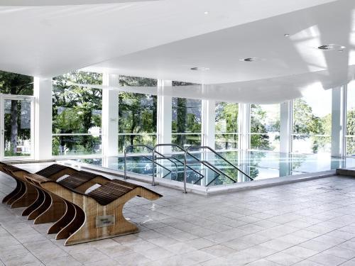 Swimmingpoolen hos eller tæt på Comwell Kellers Park