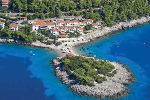 Letecký snímek ubytování Hotel Priscapac Resort & Apartments