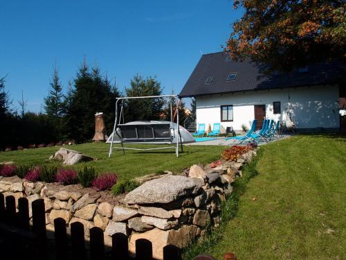 Zahrada ubytování Pension STYL