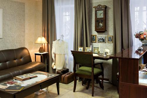 Гостиная зона в Hotel on Prusskaya 8
