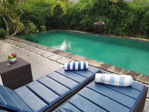 The swimming pool at or near Villa Horizon Nusa Dua