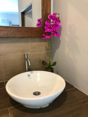 A bathroom at The Temak Villa