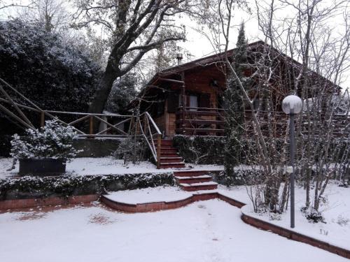 Etna Baite Milo durante l'inverno