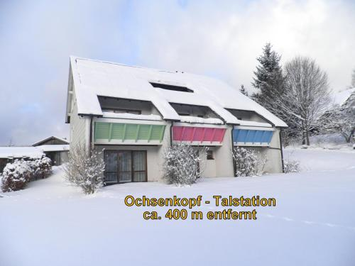 Gästehaus Sonneck during the winter