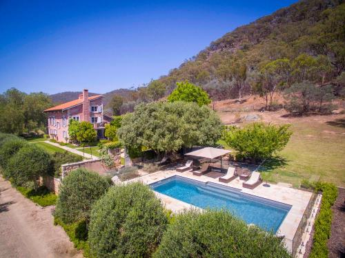 A view of the pool at Talits Vineyard Estate or nearby