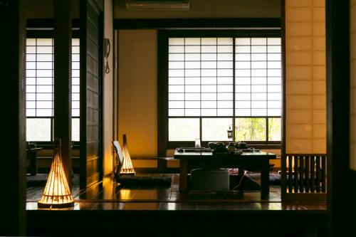 A restaurant or other place to eat at Oyado Kafugetsu