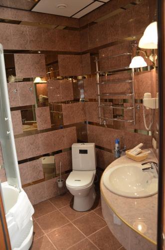 Ванная комната в Отель Семь пятниц