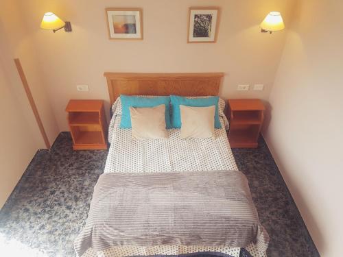 Cama o camas de una habitación en Hotel Sonia Chipude