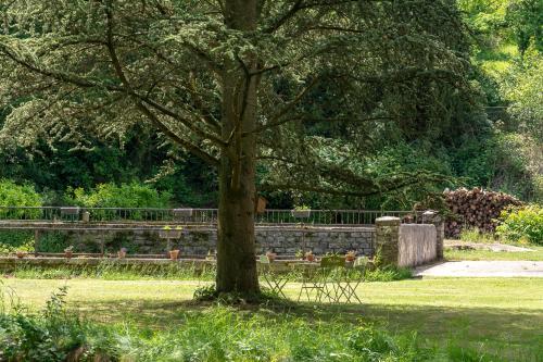 A garden outside Le Moulin du Loison