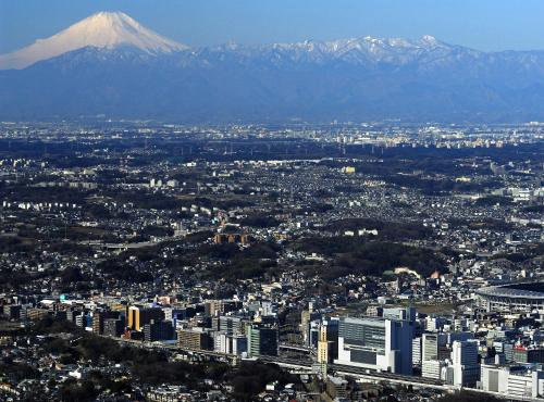 A bird's-eye view of Hotel Associa Shin-Yokohama