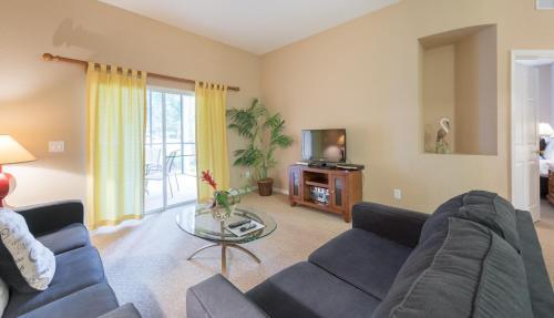 A seating area at Bahama Bay, Davenport, Florida Oversize 2 Br condo