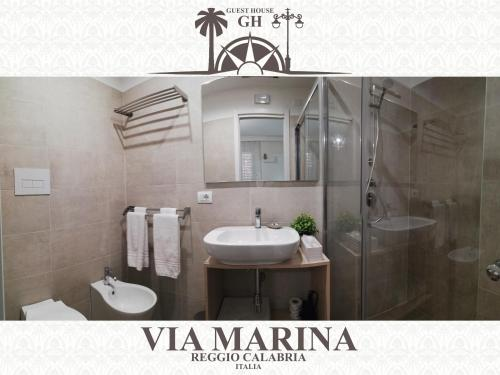 Bagno di Guest House B&B Via Marina