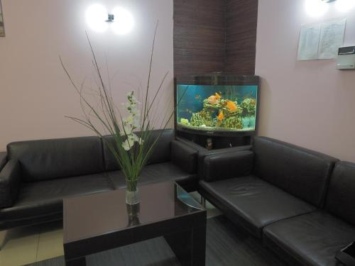 Гостиная зона в Парус Парк-отель