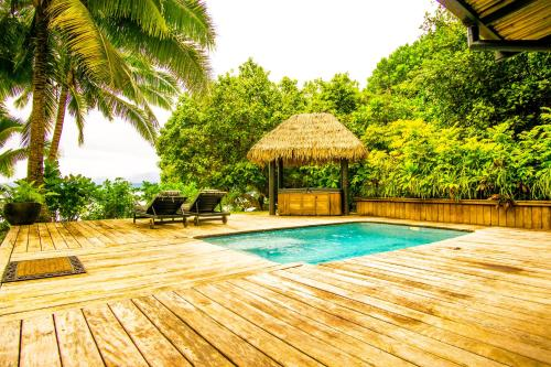 The swimming pool at or near Qamea Resort & Spa