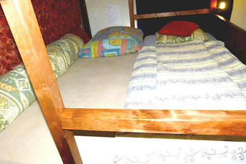 A bed or beds in a room at only Single Room, Frankfurt am Main CityCentre