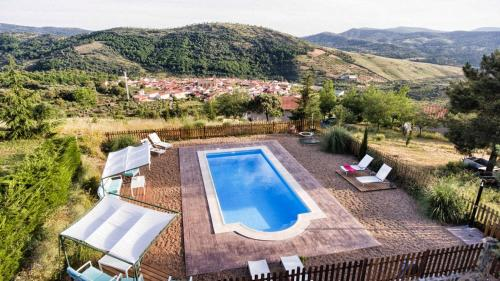 Vista de la piscina de Cielo Abierto o alrededores