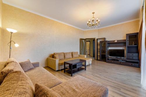A seating area at Апартаменты у моря Магнолия