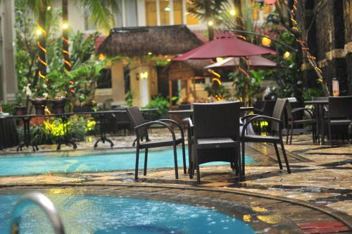 The swimming pool at or close to The Mirah Bogor