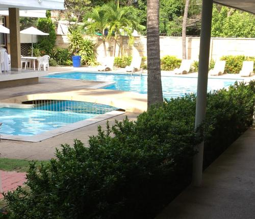 The swimming pool at or near Vallclaire Suites