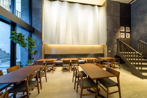 A restaurant or other place to eat at Best Western Plus Hotel Fino Osaka Kitahama