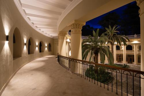 Балкон или терраса в Amra Park-hotel & Spa