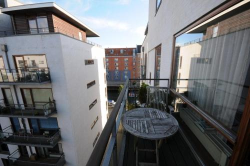 A balcony or terrace at Esben Juhls Guest Room