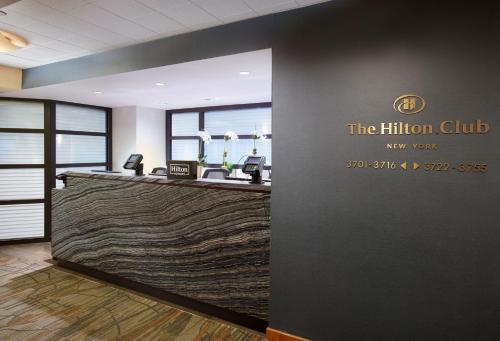 The lobby or reception area at Hilton Club New York