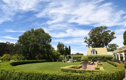 A garden outside Earlwood Manor of Sassafras