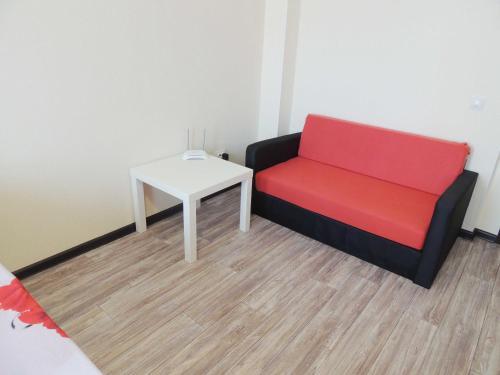 A seating area at Centr goroda Shorsa 8M