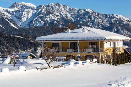 Villa Castelli v zimě