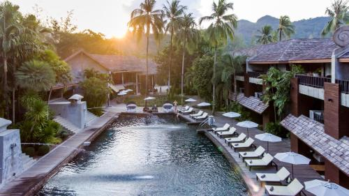 A view of the pool at The Dewa Koh Chang or nearby