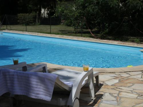 The swimming pool at or near La Grange 9