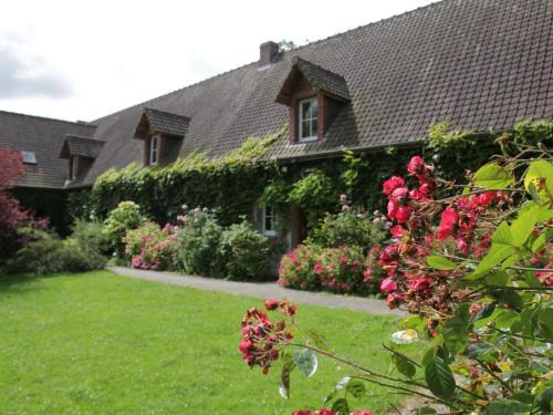 A garden outside La Grange 9