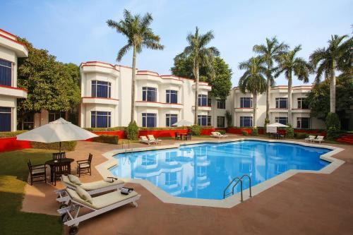 The swimming pool at or close to Ramada Khajuraho