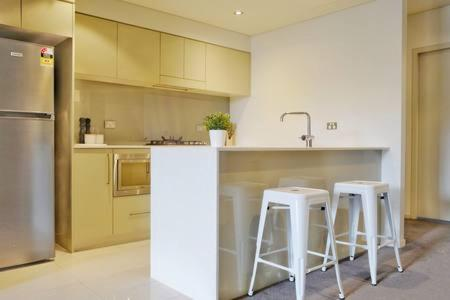 A kitchen or kitchenette at Inmark Tower