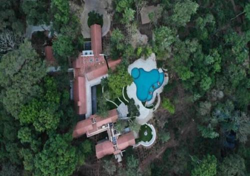 A bird's-eye view of The Birchwood Retreat, Madikeri