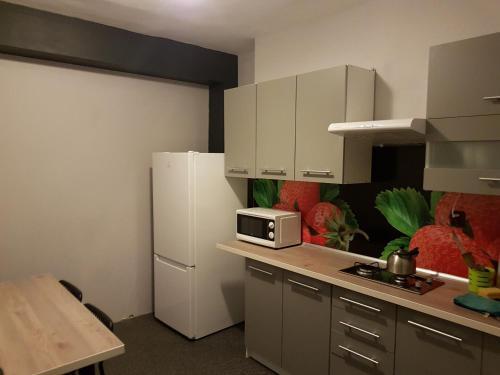Kuchnia lub aneks kuchenny w obiekcie Pokoje Gościnne Tessa