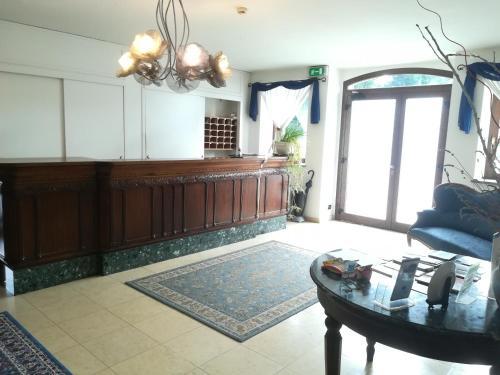 The lobby or reception area at Hotel Ristorante Italia