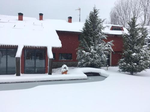 Fuentes Blancas during the winter